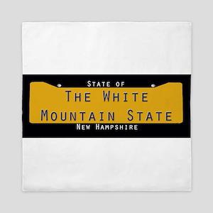 New Hampshire Nickname #2 Queen Duvet