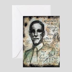 Yog sothoth greeting cards cafepress hp lovecraft greeting card m4hsunfo