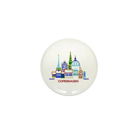 copenhagen Mini Button (100 pack)