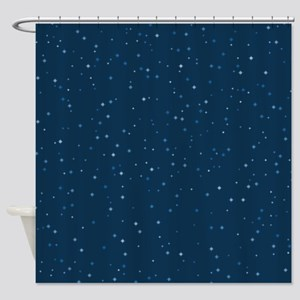 Stars At Night Shower Curtain
