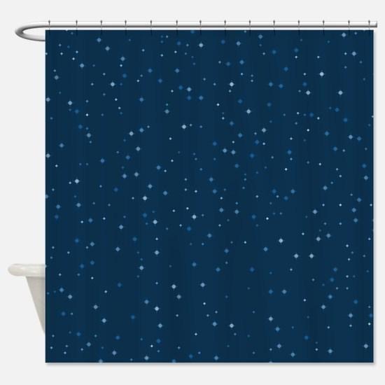 Stars At Night Shower Curtain