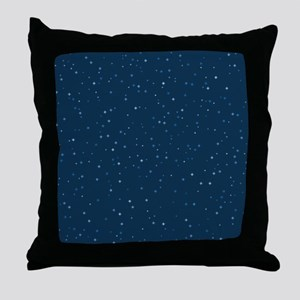 Stars At Night Throw Pillow
