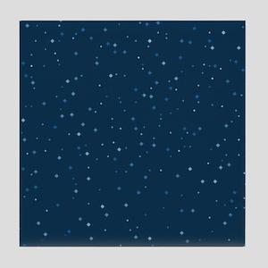 Stars At Night Tile Coaster