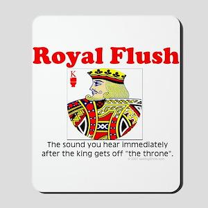 Royal Flush Definition Mousepad