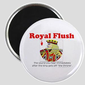 """Royal Flush Definition 2.25"""" Magnet (10 pack)"""