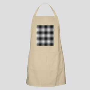 Houndstooth  White Apron