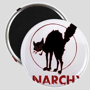 Anarchy - black cat Magnet