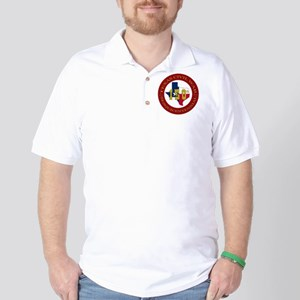 Texas Civil War Logo Golf Shirt