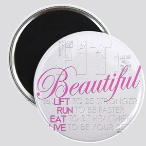 Fit Is Beautiful Magnet