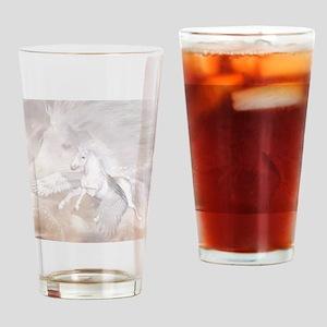 Flying Unicorn Drinking Glass