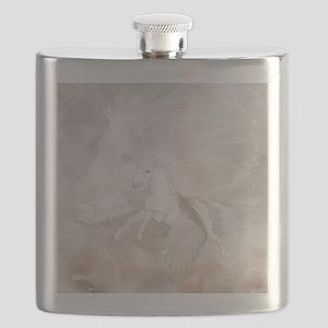 Flying Unicorn Flask