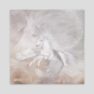 Flying Unicorn Queen Duvet