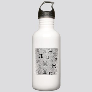 Digits of Pi Water Bottle