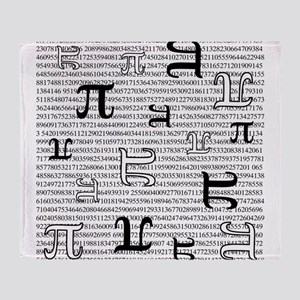 Digits of Pi Throw Blanket