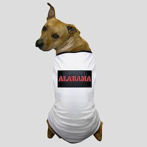 Alabama Diamond Plate Dog T-Shirt