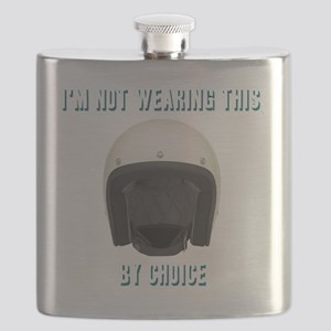 Im not wearing this helmet by choice Flask