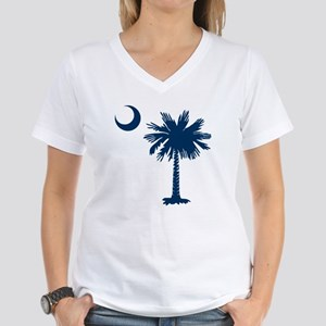 SC Emblem Women's V-Neck T-Shirt