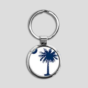 SC Emblem Round Keychain