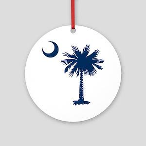 SC Emblem Round Ornament