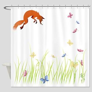 Fox Shower Curtains