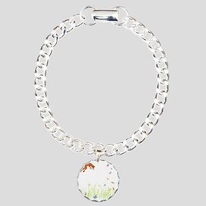 Fox Charm Bracelet, One Charm
