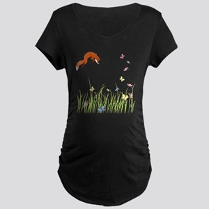 Fox Maternity Dark T-Shirt