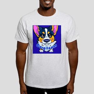 Corgilcous Black Tri Light T-Shirt