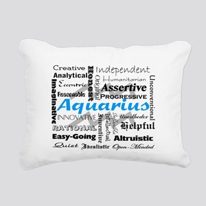 Aquarius Rectangular Canvas Pillow