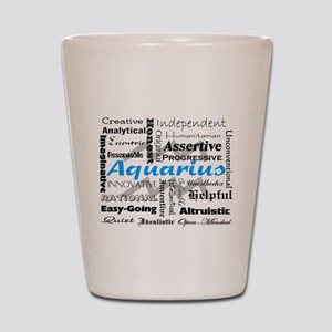 Aquarius Shot Glass