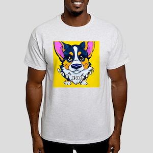 got corgi black tri Light T-Shirt