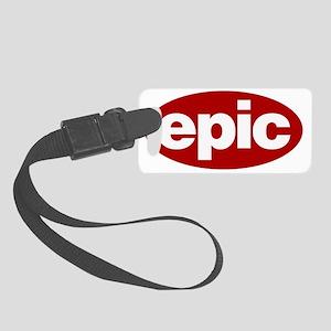 EPIC Logo Small Luggage Tag