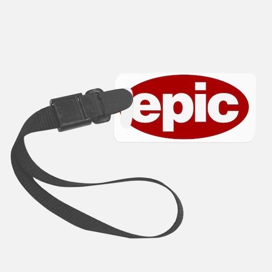 EPIC Logo Luggage Tag