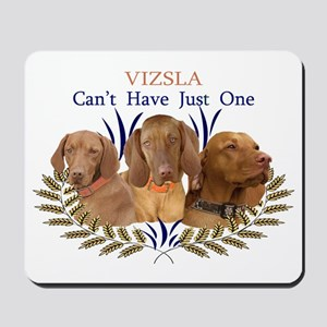 Vizsla Cant Have Just One Gifts and Appa Mousepad
