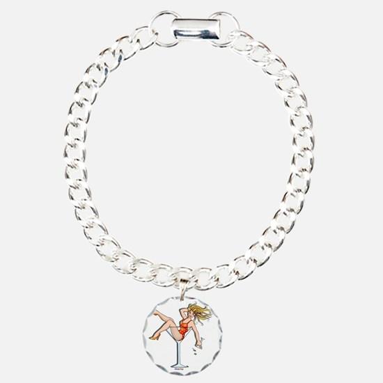 Girl In A Martini 2 Bracelet