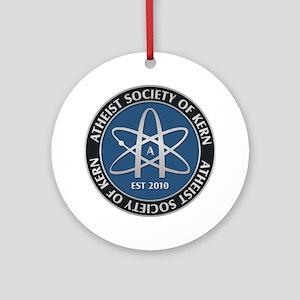Atheist Society of Kern Round Ornament