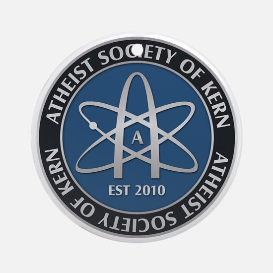 Atheist Society of Kern Round Ornament