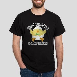 Chick about to hatch Pregnancy Shirt  Dark T-Shirt