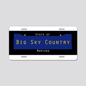 Montana Nickname #2 Aluminum License Plate