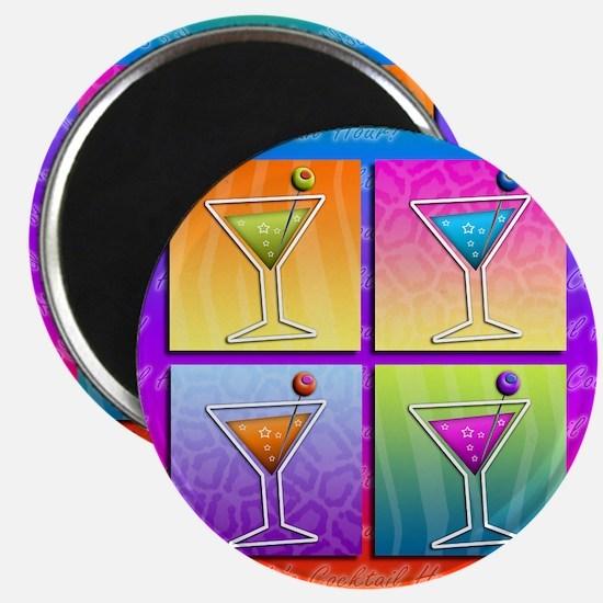 MARTINIS Pop Art Magnet