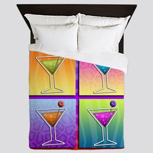 MARTINIS Pop Art Queen Duvet