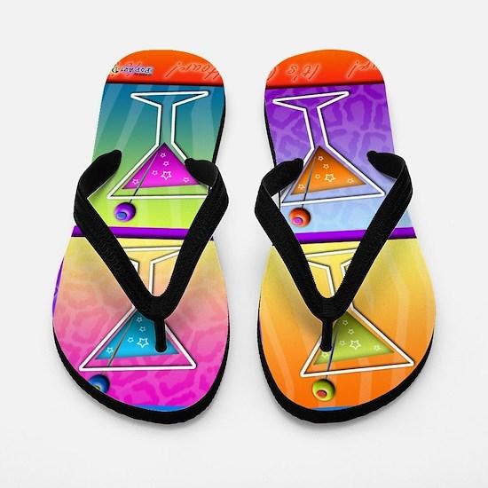MARTINIS Pop Art Flip Flops
