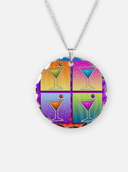 MARTINIS Pop Art Necklace
