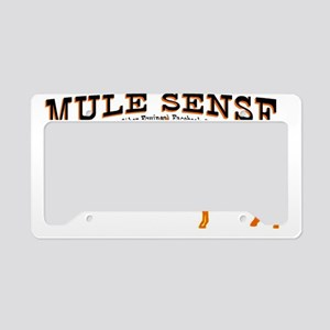 Mule Sense Horse+Donkey= mule License Plate Holder