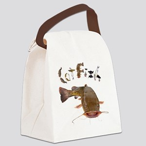 Catfish Canvas Lunch Bag