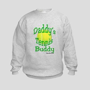 Daddy's Tennis Buddy Kids Sweatshirt