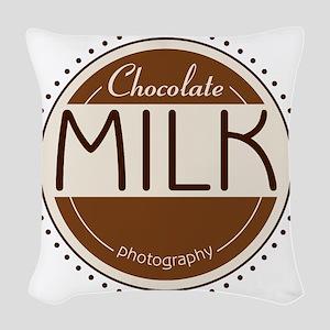 CM Logo Woven Throw Pillow