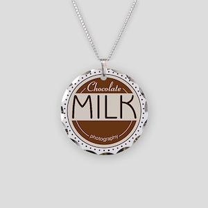 CM Logo Necklace Circle Charm