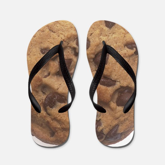 Chocolate Chip Cookie Flip Flops