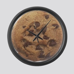 Chocolate Chip Cookie Large Wall Clock