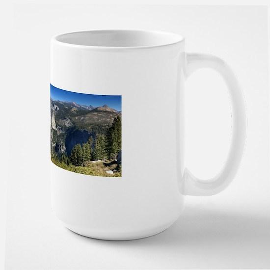 Half Dome Nevada Falls Vernal Falls Large Mug